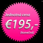 Jednotná cena: €195,-